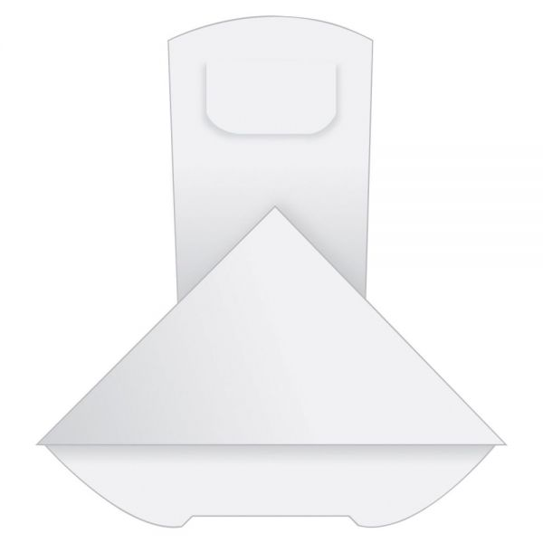 "Quality Park White paper corner clips, 1 1/2"" x 1 1/4"""