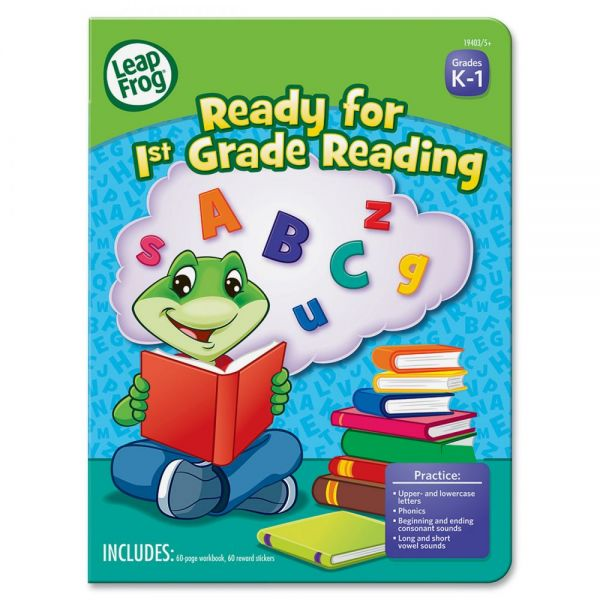 The Board Dudes Leap Frog First-grade Reading Workbook Education Printed Book