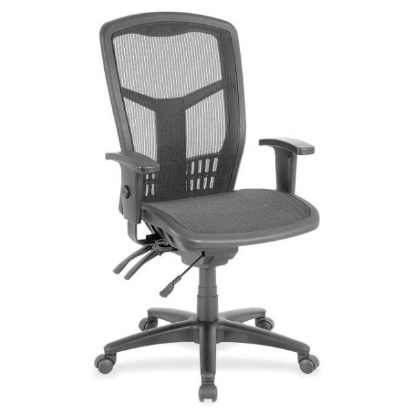 Lorell Executive Mesh High-Back Office Chair