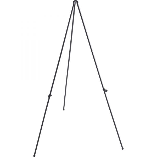 Lorell Heavy-Duty Adjustable Display Folding Tripod Easel