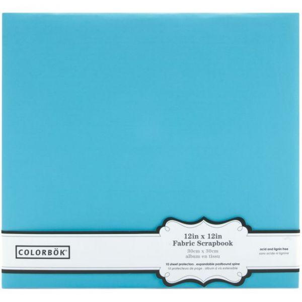 "Colorbok Fabric Post Bound Album 12""X12"""