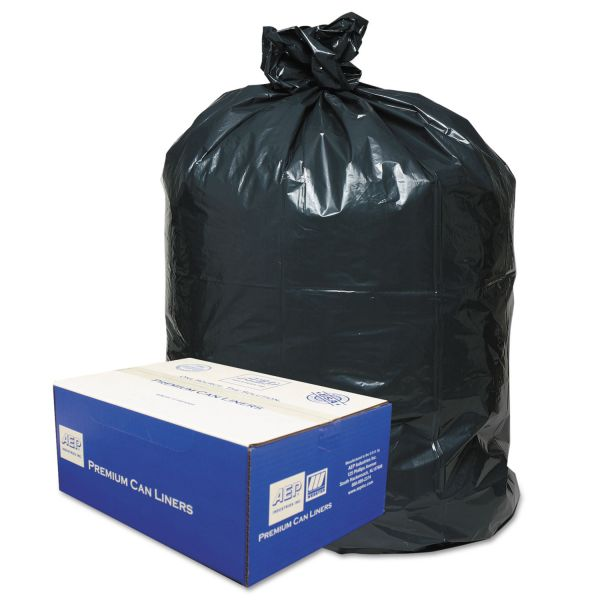 Webster Opaque Linear 56 Gallon Trash Bags