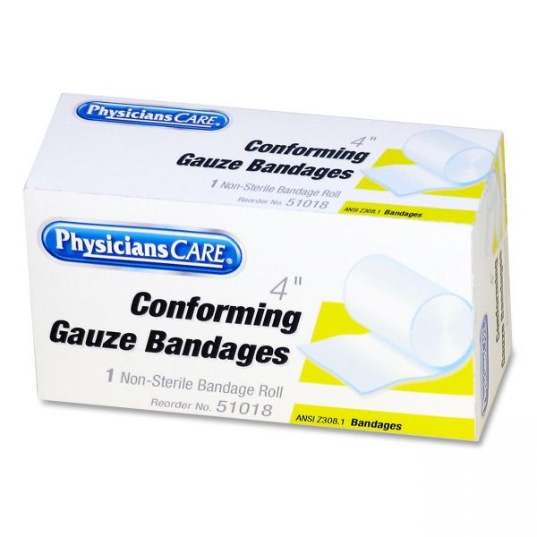 PhysiciansCare Non-Sterile Conforming Gauze Bandages