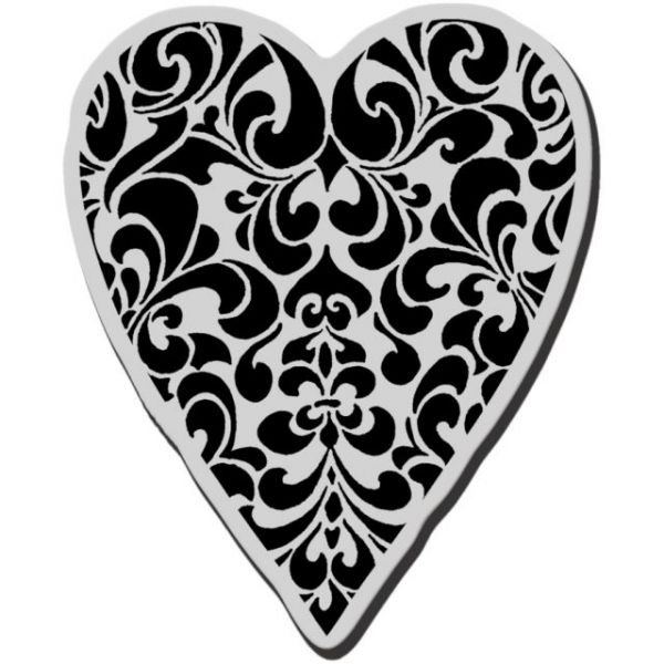 "Stampendous Cling Rubber Stamp 3.5""X4"" Sheet"
