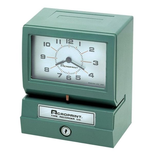 Acroprint Electric Print Time Recorders