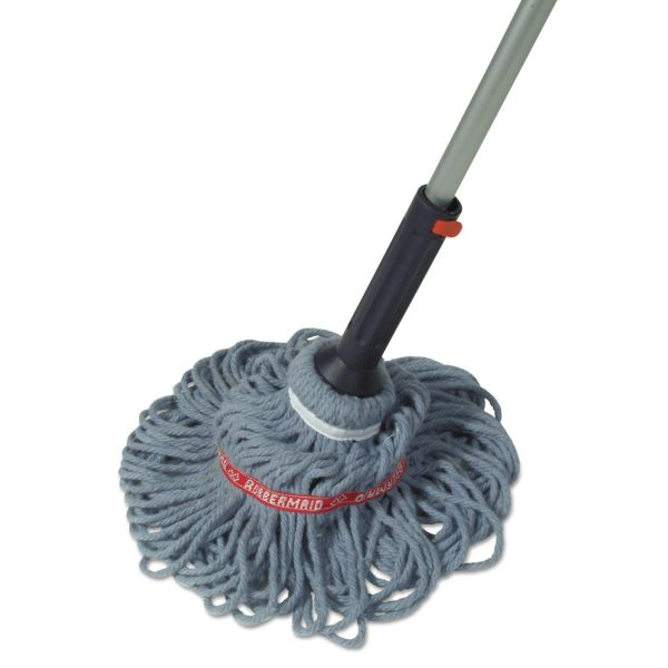 Rubbermaid Commercial Ratchet Self-Wringing Twist Mop
