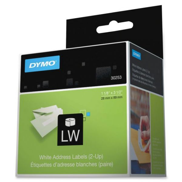 Dymo 2-UP Address Labels