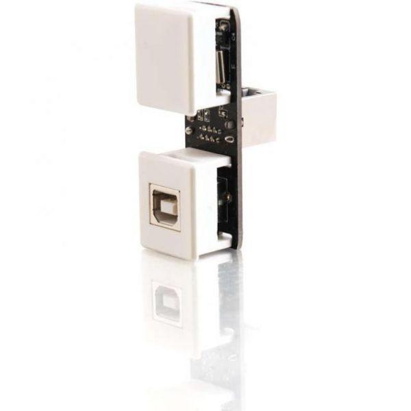 C2G USB 1.1 Keystone Extender Insert - Transmitter