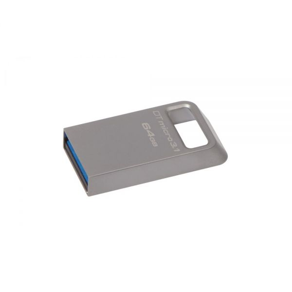 Kingston 64GB DataTraveler Micro 3.1 USB 3.1 Flash Drive