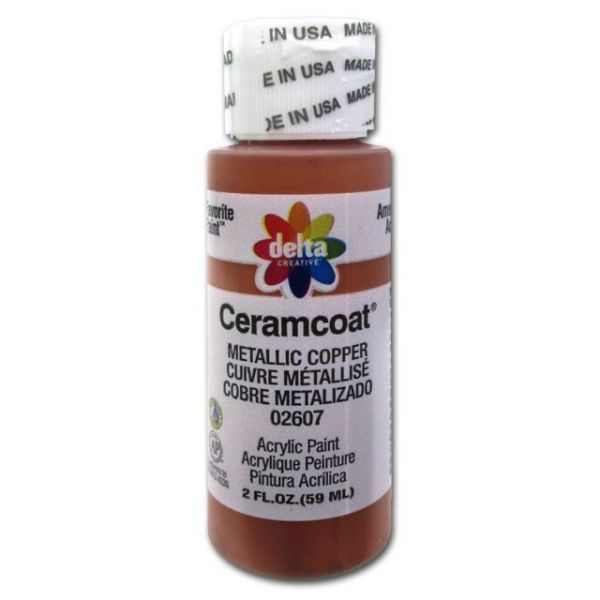 Ceramcoat Gleams Metallic Copper Acrylic Paint