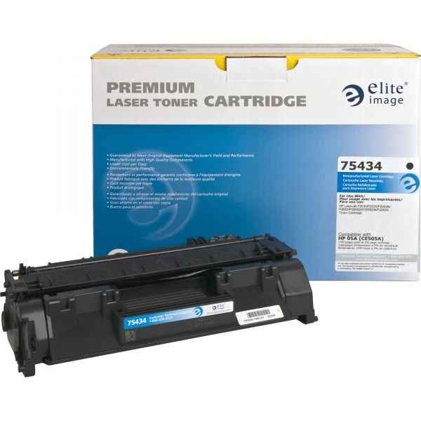 Elite Image Remanufactured HP 05A (CE505A) Toner Cartridge