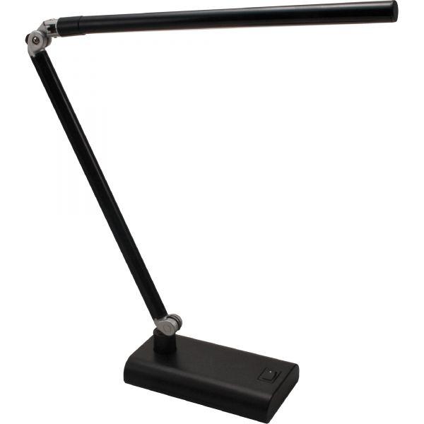 Ledu Folding STRIP 3.6W LED Desk Lamp, 5-9/10w x 15h, Black