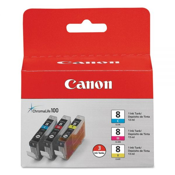 Canon CLI-8 Color Combo Pack Ink Cartridges