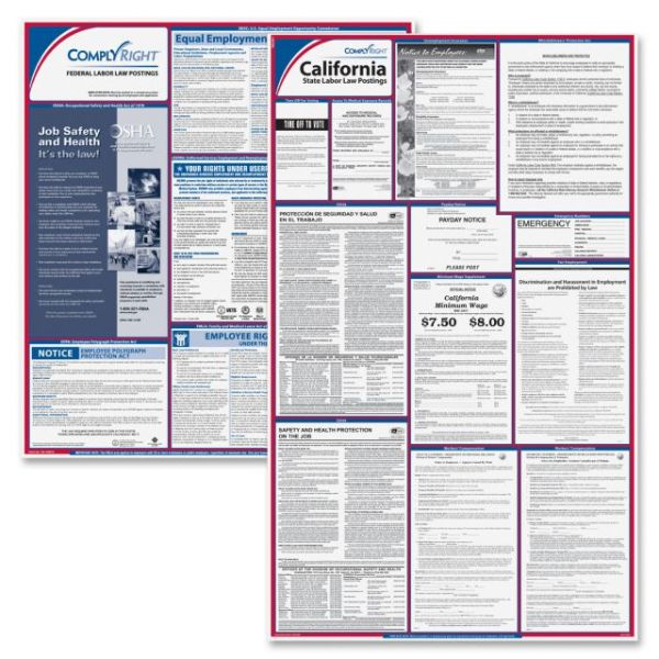 TFP ComplyRight California Fed/State Labor Law Kit