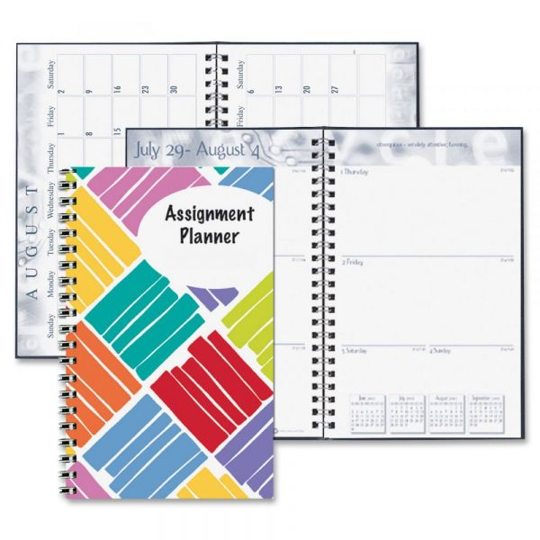 House of Doolittle Box Design Weekly Assignment Planner