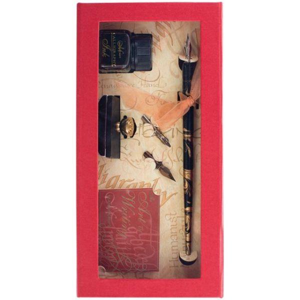 Manuscript Pen & Roller Blotter Set
