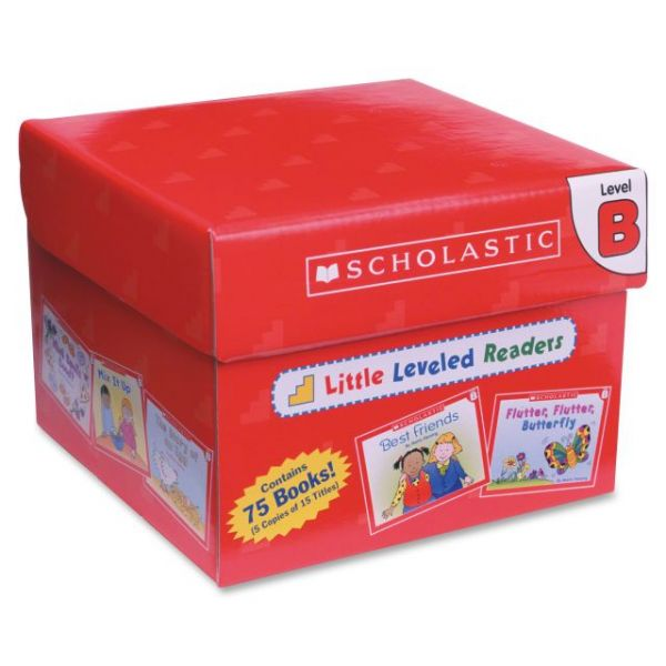 Scholastic Res. PreK Little Level B Readers Bk Set Education Printed Book - English
