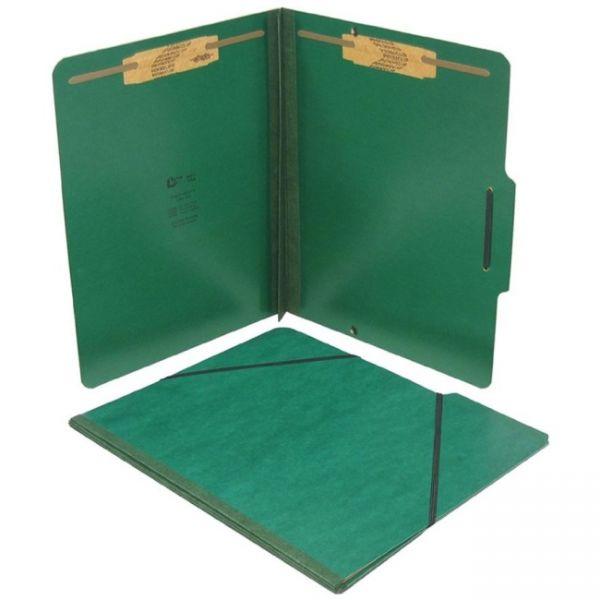 SJ Paper Expanding Pressboard File Folder With Fasteners