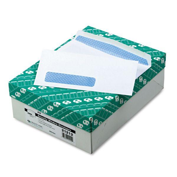 Quality Park Window Envelope, Address Window, #9, 3 7/8 x 8 7/8, White, 500/Box