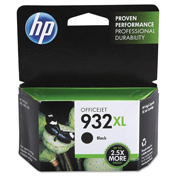 HP 932XL High Yield Black Ink Cartridge (CN053AN)