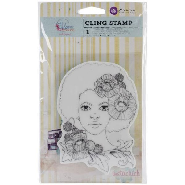 "Bloom Cling Rubber Stamps 4""X6"""