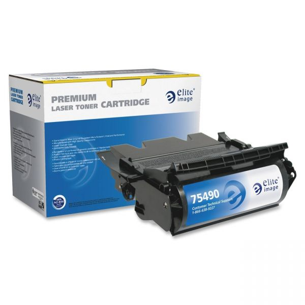 Elite Image Remanufactured MICR Toner Cartridge - Alternative for Lexmark (64015HA)