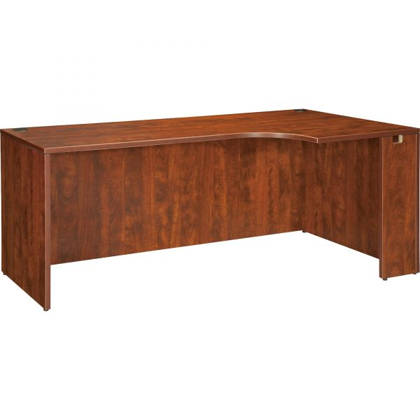 Lorell Essentials Rectangular Right Corner Desk Shell