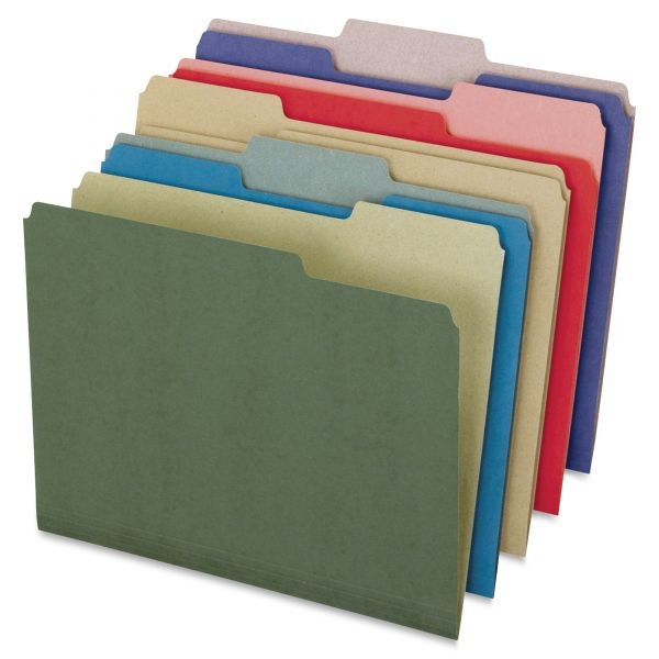 Pendaflex EarthWise Recycled Colored File Folders