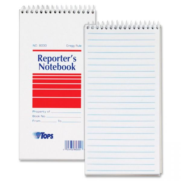 TOPS Reporter's Notebook