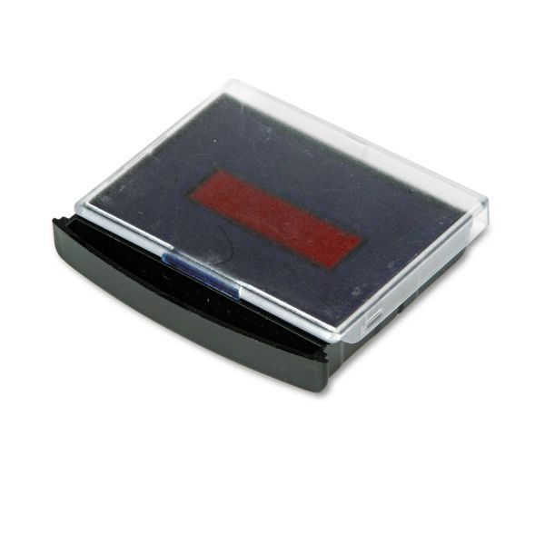 Replacement Ink Pad for 2000 Plus Daters, Blue/Red Ink
