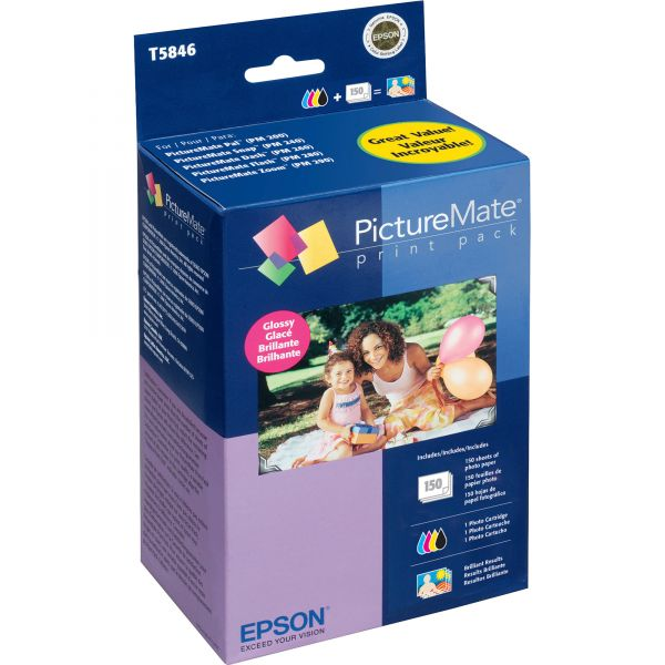 Epson Color Print Cartridge & Photo Paper Kit