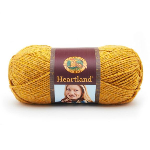 Lion Brand Heartland Yarn - Yellowstone