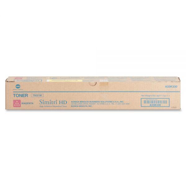 Konica Minolta Original Toner Cartridge - Magenta