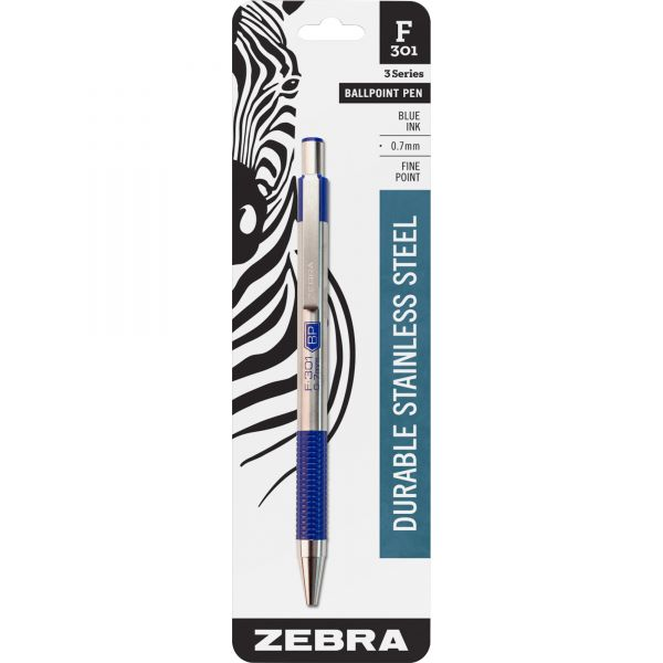 Zebra Pen F-301 Retractable Ballpoint Pen