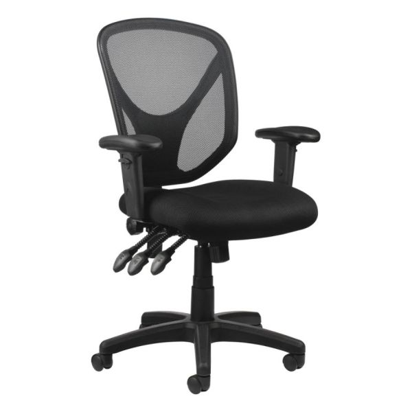 Realspace MFTC 200 Mesh Multifunction Ergonomic Mid-Back Task Chair