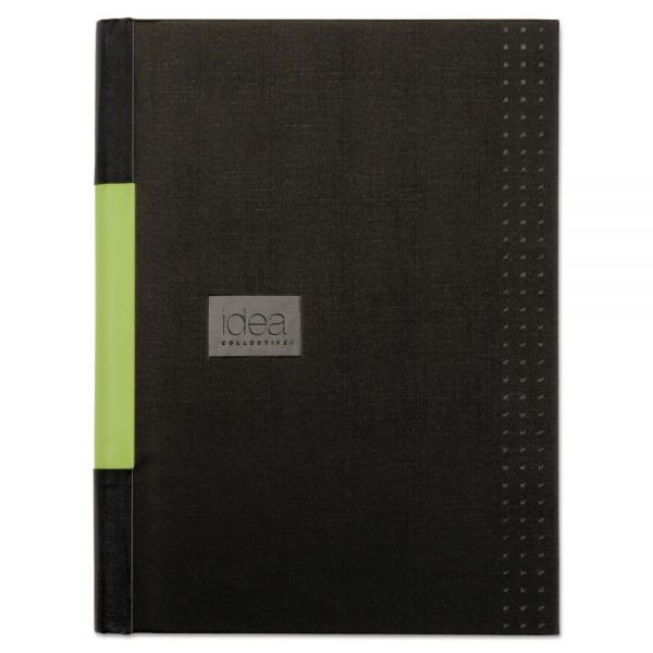 Oxford Idea Collective Professional Casebound Hardcover Notebook, 8 1/4 x 5 7/8, Black