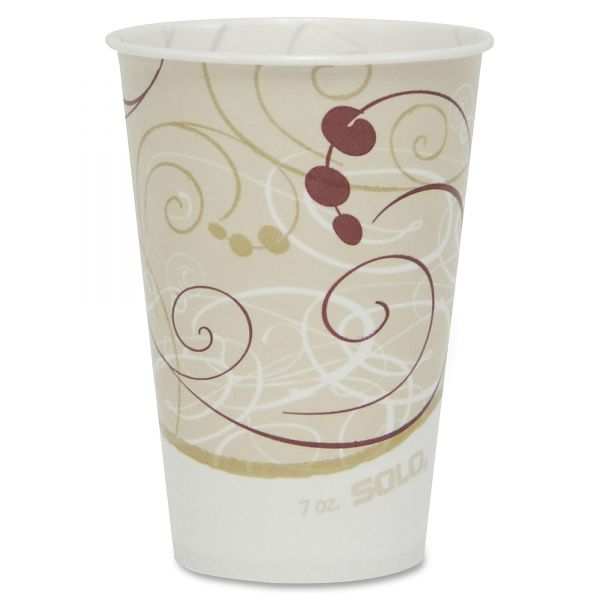 SOLO 7 oz Waxed Paper Cold Cups