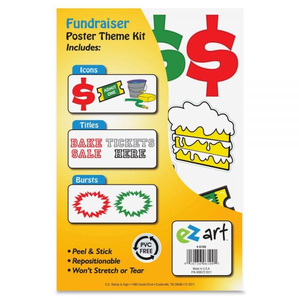 U.S. Stamp & Sign Fundraiser Poster Theme Kit