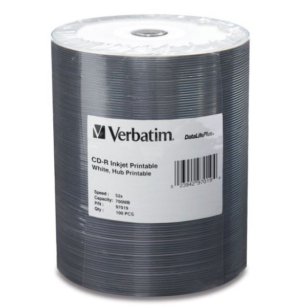 Verbatim DataLife Plus Recordable CD Media