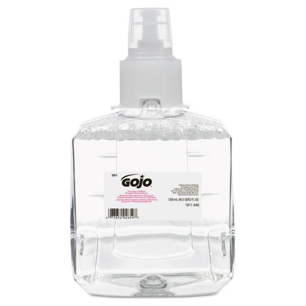 Gojo LTX-12 Clear & Mild Foam Hand Soap Refills