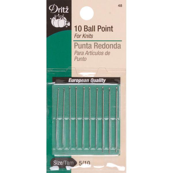 Dritz Ball Point Hand Needles