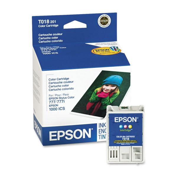 Epson T018 Tri-Color Ink Cartridge
