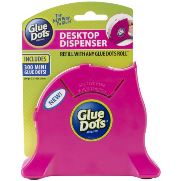 Glue Dots Desktop Dispenser