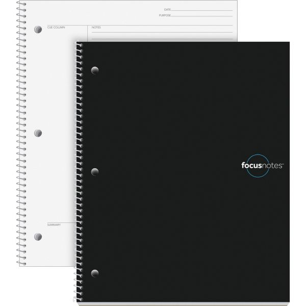 TOPS FocusNotes Notebook, 11 x 9, White, 100 Sheets