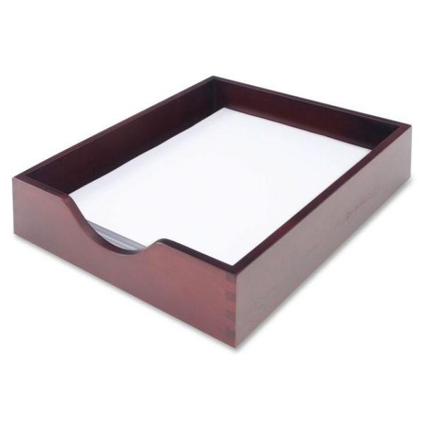 Carver Mahogany Desk Tray