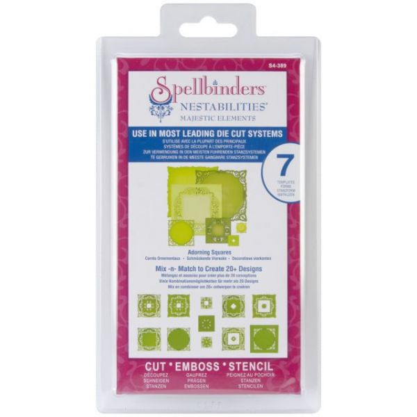 Spellbinders Nestabilities Majestic Elements Dies