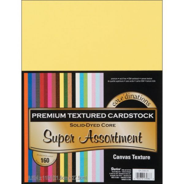 Core'dinations Premium Textured Super Assortment Cardstock