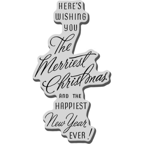 "Stampendous Christmas Cling Rubber Stamp 3.5""X4"" Sheet"
