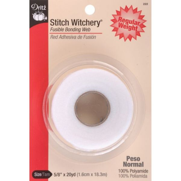 Stitch Witchery Fusible Bonding Web Regular Weight