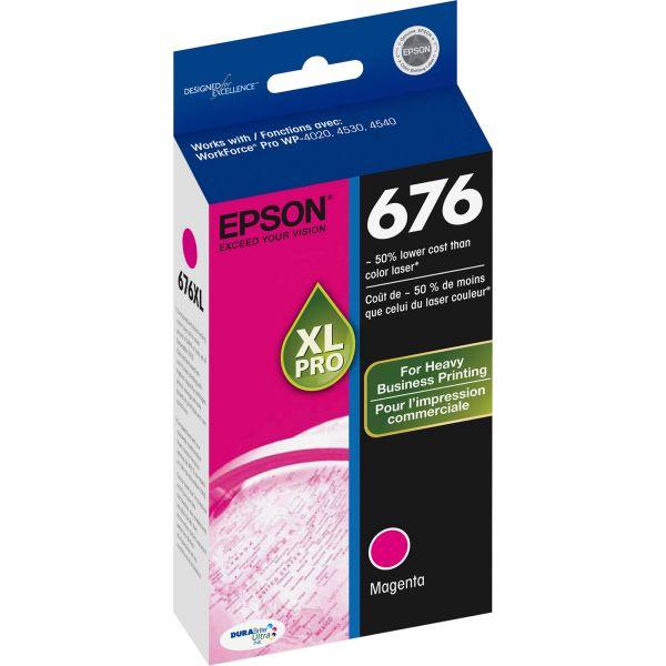 Epson 676 XL Magenta High Yield Ink Cartridge (T676XL320)
